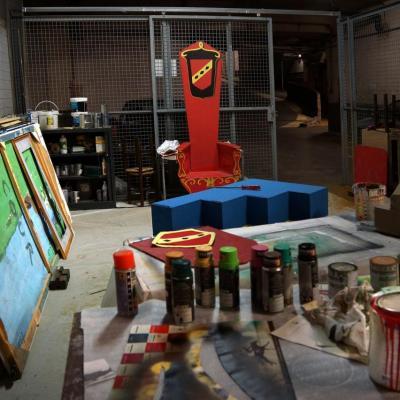 atelier TRONE PEINTURES 3 BIS